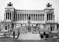 II. Viktor Emanuel emlékműve Rómában