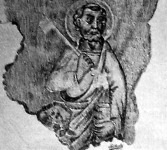 Hatszázéves freskók a Maros-Szentannai Ref. Templomban -   Szent Péter