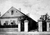 Rákosi Jenő szülőháza a zalamegyei Ukkon