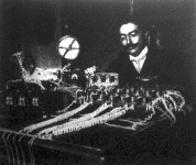 Andreini és Maino olasz mérnökök legujabb találmányu Morse-féle távirókészüléke