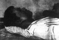 A fekete halál áldozata