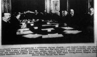 Az uj franczia kabinet első tanácskozása