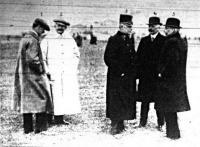 A delegáczió tagjai Bécsújhelyben