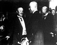 Kacsura herczeg és Szajonji japán miniszterelnök