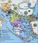 Törökország európai részei 1908-1913 között