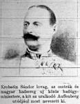 Krotobin Sándor lovag