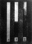 Az emberi gyomornedvvel végzett kisérleteket ezzel a három gelatin-fényérzékenyszalaggal bizonyitotta a gyomornedv alkalmazását felfedező tudós