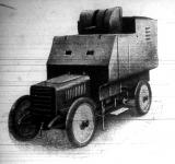 A két nagy rivális, a német és a franczia hadi készülődései vetették fölszinre a hadi automobil-tipust