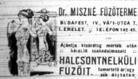 Dr. Miszné fűzőterme
