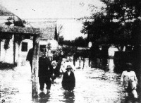 A dévai árvíz képei
