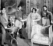Búcsú Stefanától ( I. felvonás) Gléby ( Gábor) Vaszily kapitány ( Bihar),  Stefana ( Bazilidesz Mária)