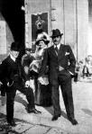 Puccini és neje Budapesten