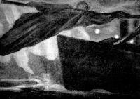 A Halálhajó Kacziány Ödön festménye
