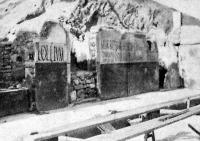 Választási proklamáczio a régi Pompeiben