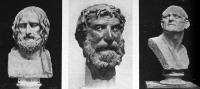 Eurupidész hermája (Napoly Museo Nazionale), Ismeretlen görög férfi (Athén Nemzeti Múzeum),  Görög harczos (Napoly Museo Nazionale)