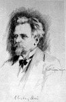 Hubay Jenő - Vadász Miklós rajza