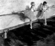 Degas: Tánczosnők a korlátnál - Degas festménye, melyért közel félmillió frankot fizettek, a legnagyobb árt,melyen élő művész képe eddig elkelt