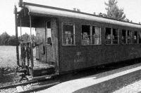 Vasúti vagon  1913-ból