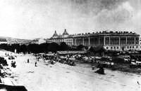 Erdészeti és pénzügyi paloták Kolozsváron  1900 körül