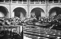 A képviselőház ülése november 4-én.