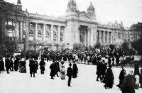 A budapesti tőzsde épülete