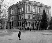 A zágrábi horvát Tudományos Akadémia palotája.
