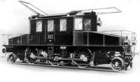 A Valtelina vasút villamos mozdonya 1902-ben