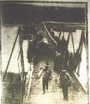 Román katonák hidat épitenek