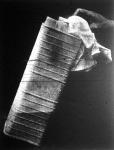 A folyékony nitrogénbe mártott bádogdobozban lévő levegő azonnal cseppfolyóssáválik