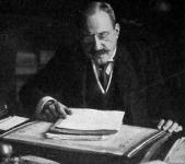 A Magyar Általános Hitelbank palotája: Ullmann Adolf vezérigazgató dolgozó-szobájában