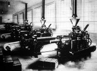 A német ipar remeke, a csomagoló gép