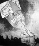 A Magyar Figaro Az olló című karikatúrája
