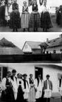 1. A templom előtt - 2. A hadikfalvi iskola - 3. Csámpár Jóska házanépe