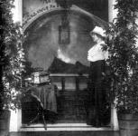 Márkus Emilia hűvösvölgyi otthonában