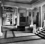 A kassai múzeum földszinti előcsarnoka