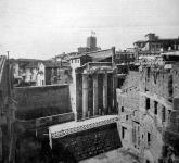 Augustus forumának romjai
