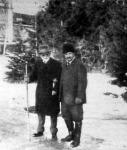 Semsey Andor Pulszky Garibaldival, a kassa-oderbergi vasút vezérigazgatójával Széplakon