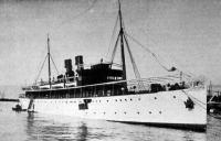 Az Ungaro Croata Visegrád nevű gyorshajója,
