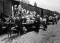 Kecskeméti baraczkvásár: a vasútnál