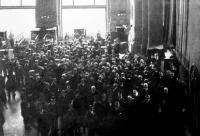 Az árutőzsde délben (Budapest, 1914)
