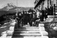 Magyar és osztrák vasútigazgatók kirándulása a Tátrába