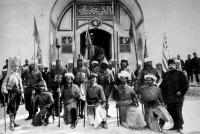 A törökök diadalünnepe Konstantinápolyban, Drinápoly visszafoglalásának örömére.