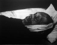 Kossuth Ferenc a halottas ágyon