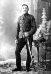 Fehérvízi Vilmos a közös huszárok egyenruhájában 1914-ben