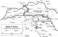 Verdun térképen