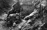 Lövészárok Verdun mellett