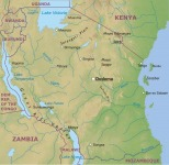 A kelet-afrikai harcok színtere