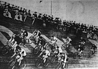 Kerékpáros pályaverseny Berlinben