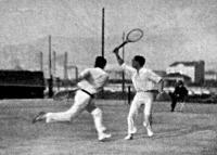 tenisz páros jelenet