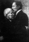 A szemüveges Huerta elnök és Orozko tábornok
